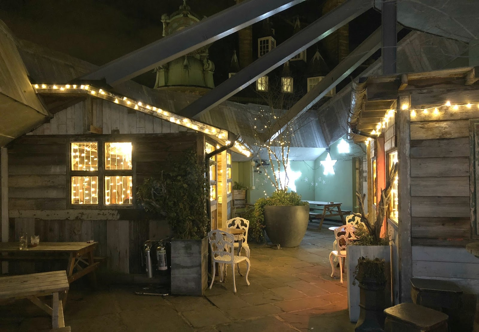Christmas at the Botanist Newcastle - Roof Terrace