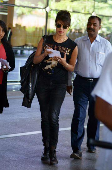 Priyanka back in Mumbai why?