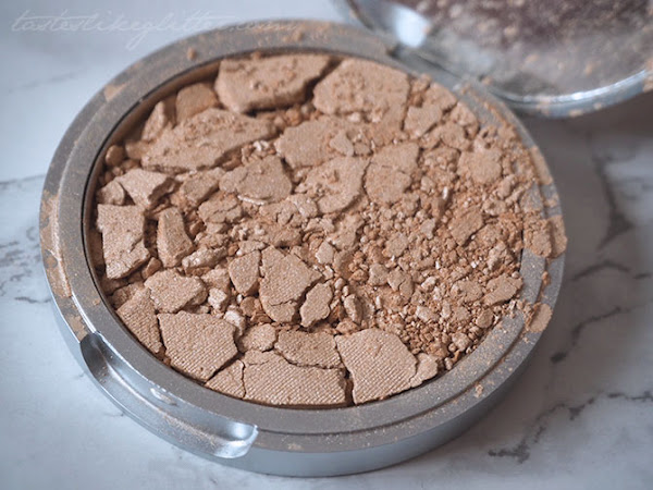 How To Fix A Broken Pressed Powder.