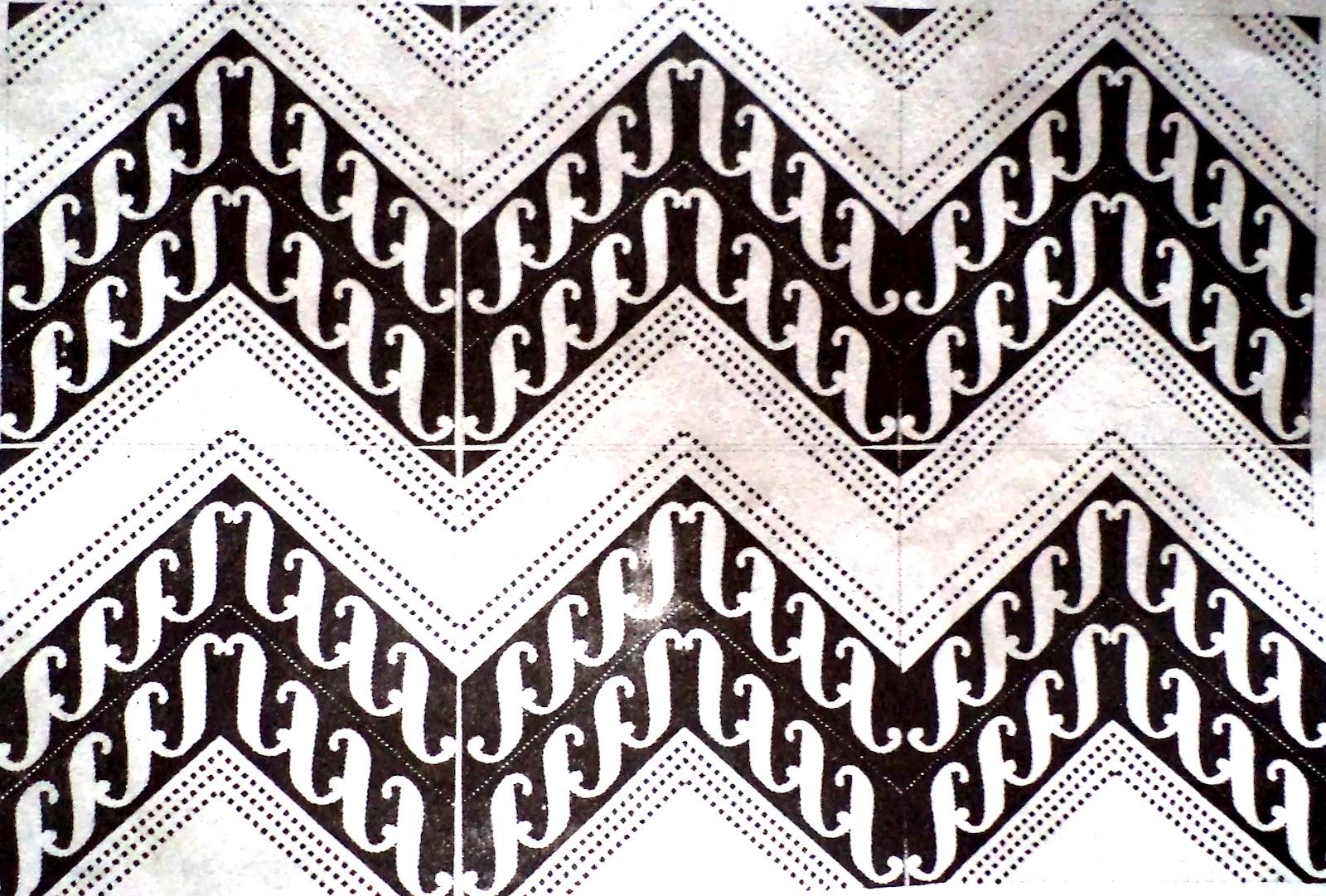 Kumpulan Gambar Sketsa Batik Geometris
