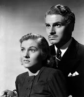 Rebecca (1940) Joan Fontaine and Laurence Olivier Image 2 (3)