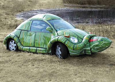 foto mobil unik