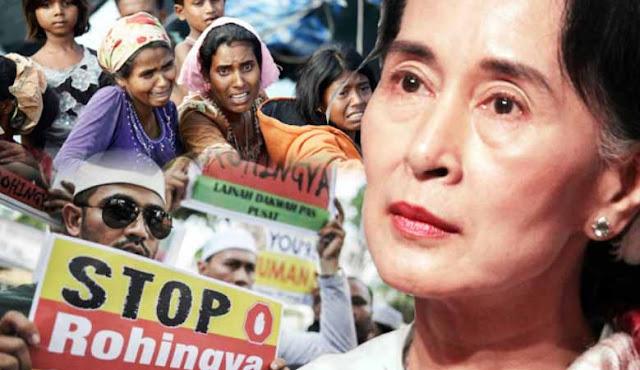 Para Peraih Nobel Perdamaian Kecam Keras Sikap Diam Aung San Suu Kyi Terhadap Genosida Rohingya