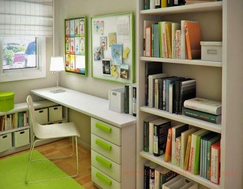 Model lemari buku minimalis yang cocok untuk kamar anak yang minimalis