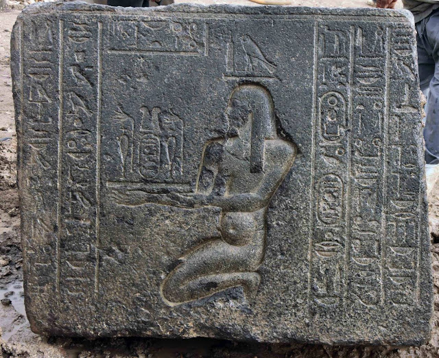 2,360 year-old temple ruins unearthed under Cairo