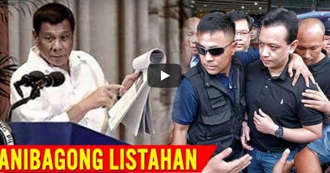 Sa Wakas! Eto Na Pinakahinihintay Na Lahat! Inilabas Na Ni Pres Duterte Ang Bagong Listahan