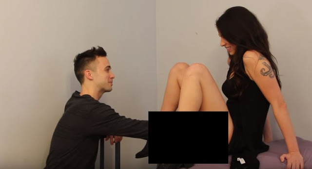 Watch: Gay guy sees a trans womans vagina for the first