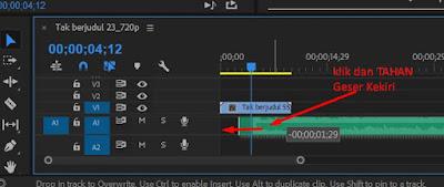 cara memotong audio atau musik di adobe premiere pro