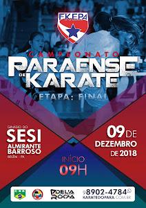 Campeonato Paraense de Karate - 3ª Etapa