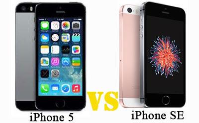 Perbedaan iPhone SE VS iPhone 5 S