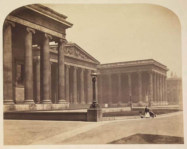 The British Museum. Photograph by Roger Fenton, 1857
