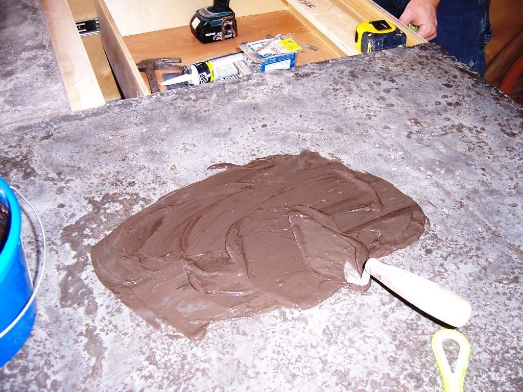 Creating Concrete Countertops February 2011