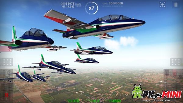 Frecce Tricolori Flight Sim.Apk