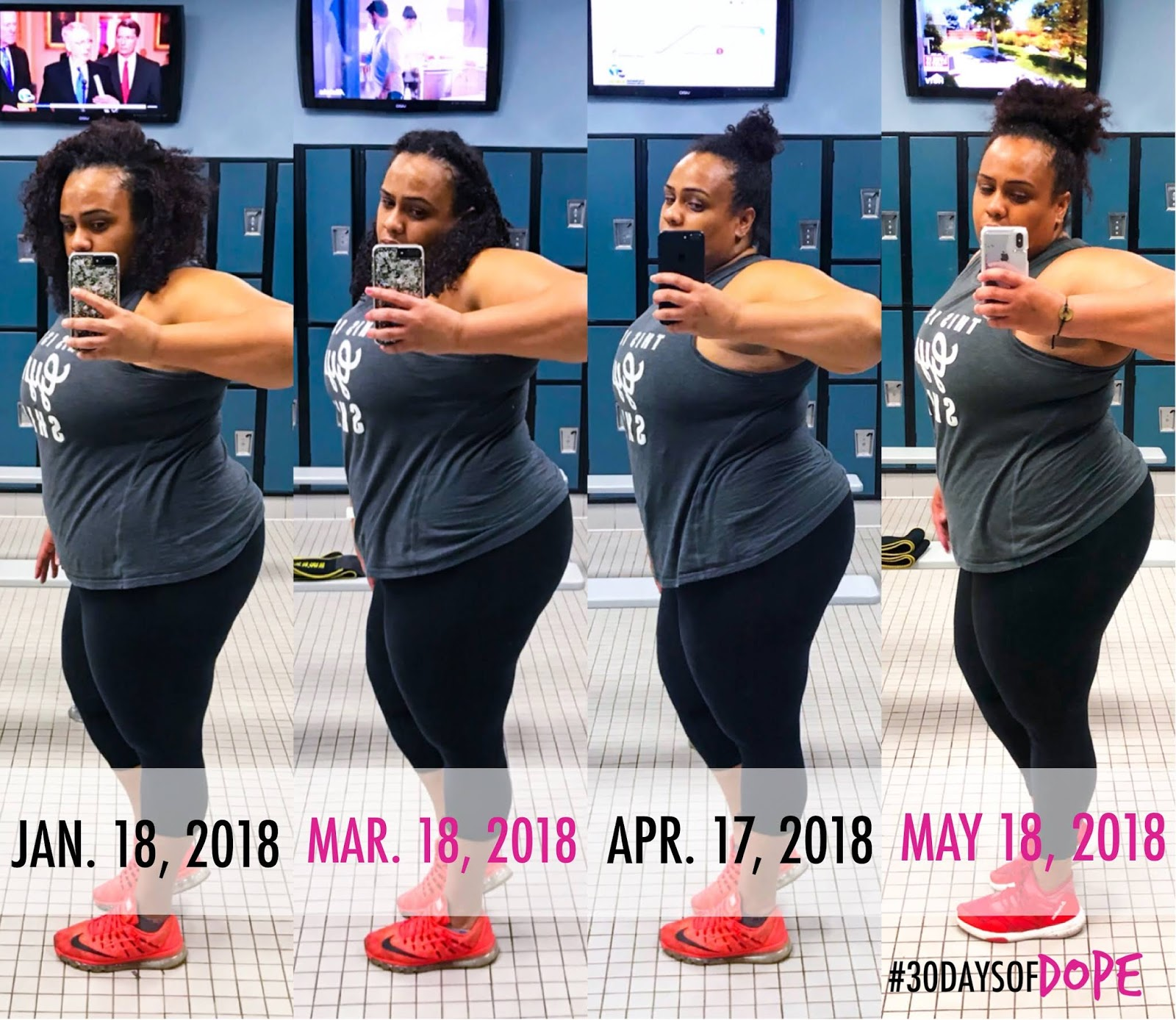 Fat Loss Update - 30DaysofDope IFFYM, Lifting Heavy for Women