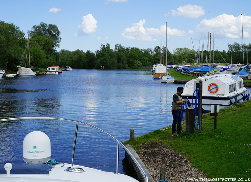 Boating Holiday on the Norfolk Broads