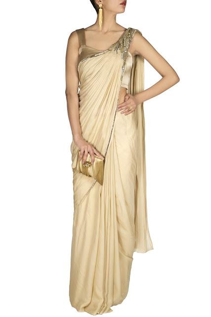 c787e5cd2e3 Buy Online Best Saree Gown Top Dress - Gaurav Gupta ~ CarmaOnlineShop