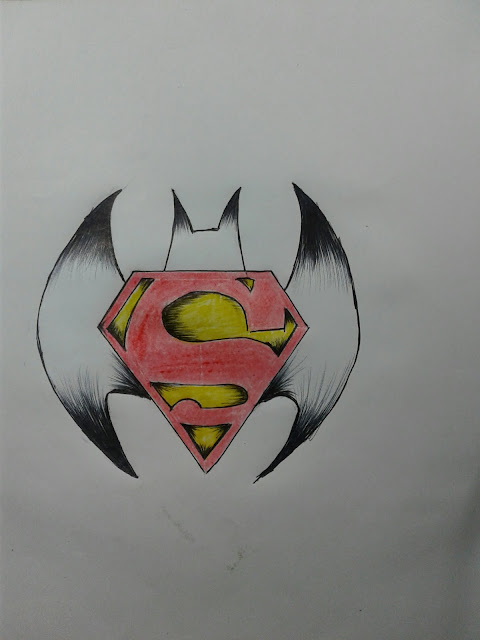 superman vs batman logo real