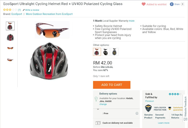 Cycling Helmet Murah Lazada
