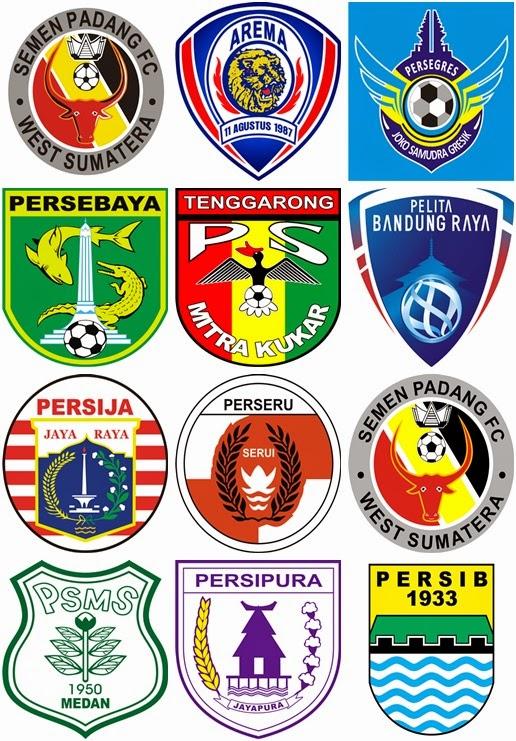 logo vector lambang klub sepakbola Indonesia
