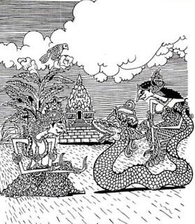 Mitos Legenda Nagini Manusia Setengah Ular yang Bikin Heboh
