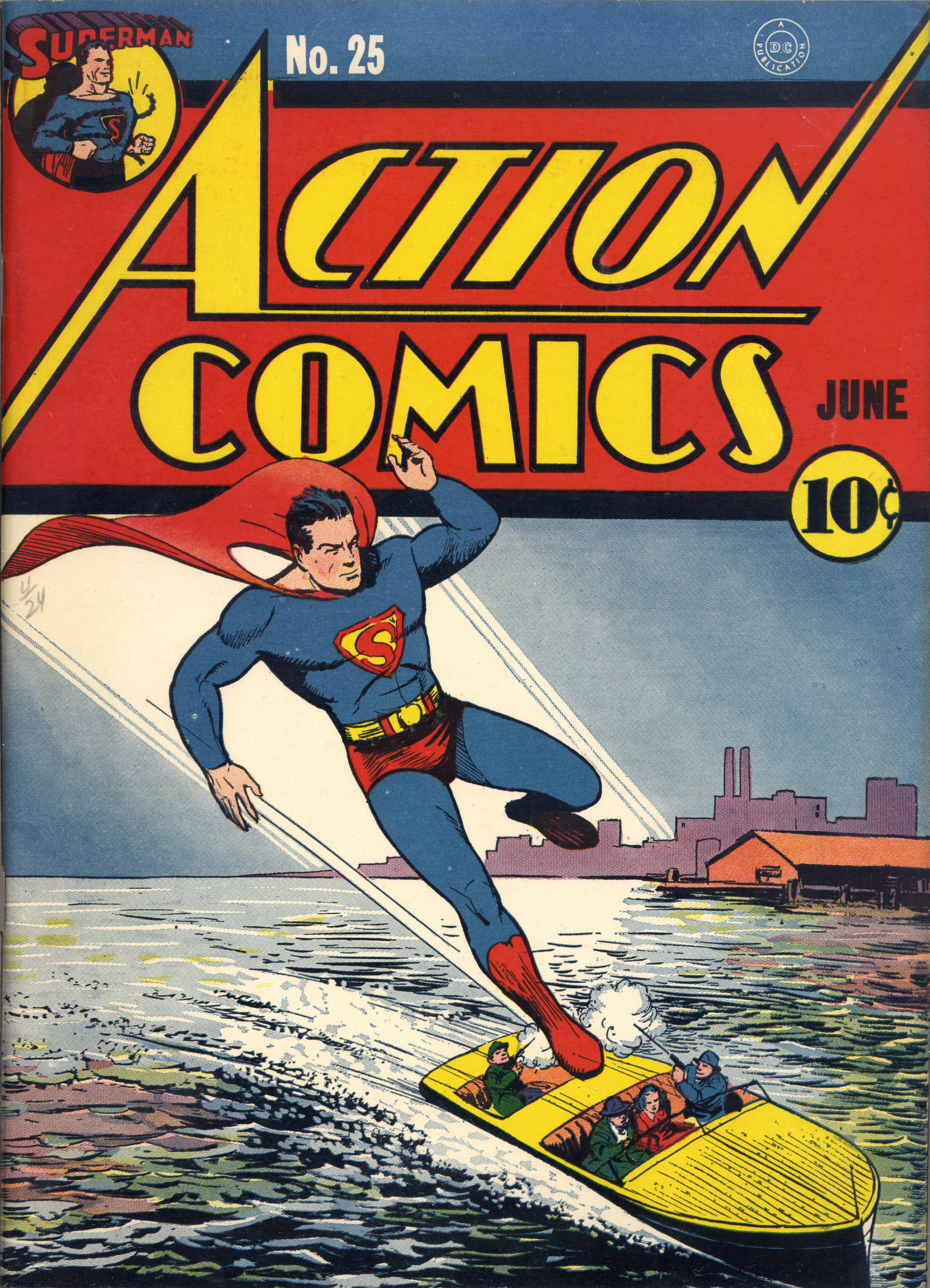 Read online Action Comics (1938) comic -  Issue #25 - 2