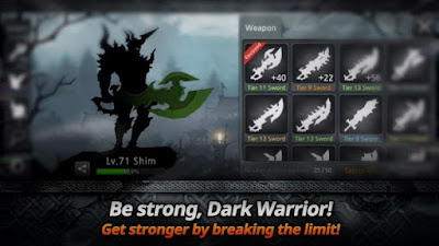 Game Dark Sword Mod Apk v1.7.0 Unlimited Gold Coins Stamina Free Download