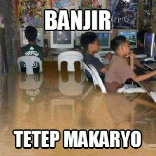 Gambar Dp Bbm Banjir tetap makaryo tetap kerja
