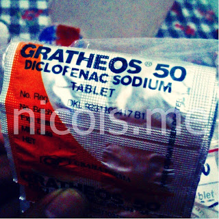 gratheos 50mg Diclofenac Sodium, obat sakit gigi yang ampuh