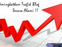 4 Cara Meningkatkan Trafik Blog Secara Alami
