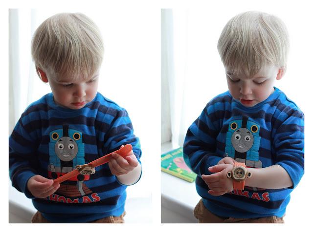 Model toddler