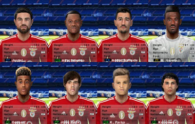 PES 6 Facepack S.L. Benfica 2018/2019 by Cuervo96