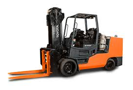 2 Wheel Drive Forklift For Industry Warehouses