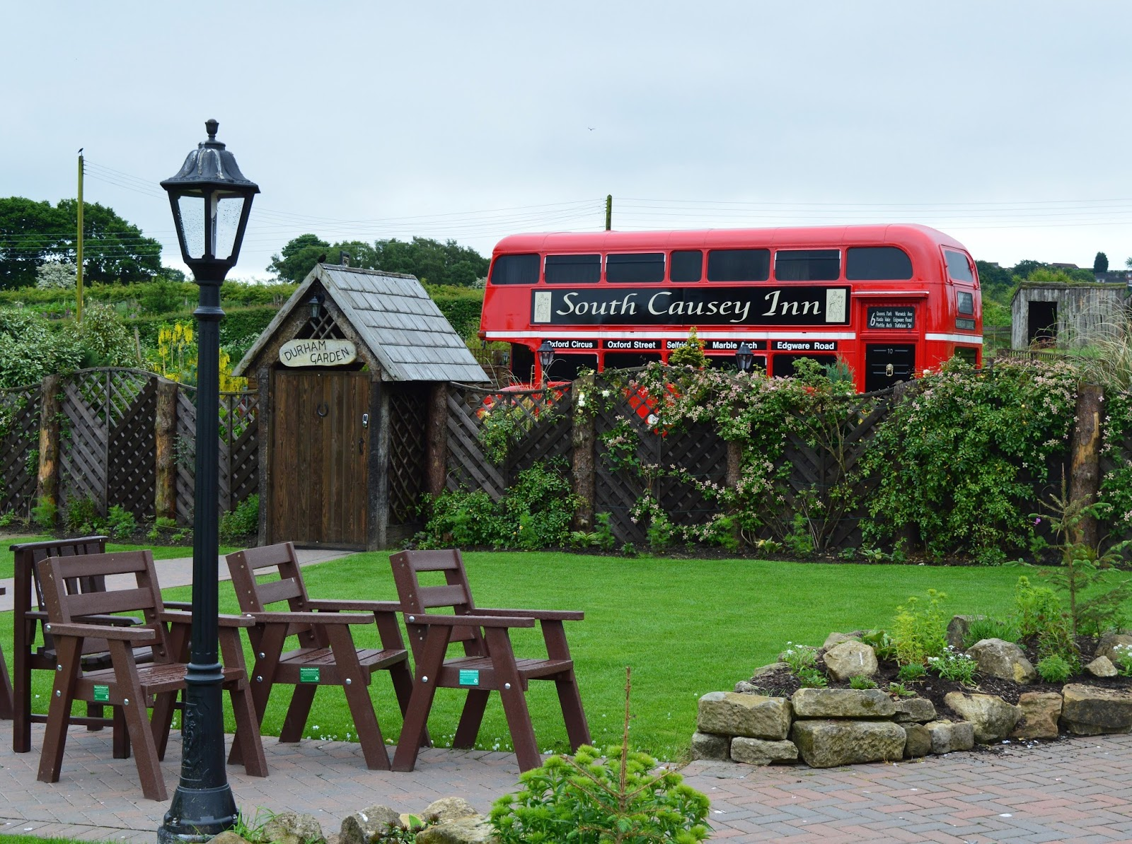 Overnight Stay at South Causey Inn | County Durham - Converted London Bus