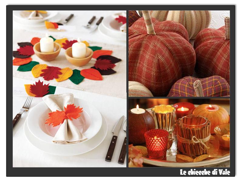 Le chicche di vale valevent communication decorazioni - Decorazioni d autunno ...