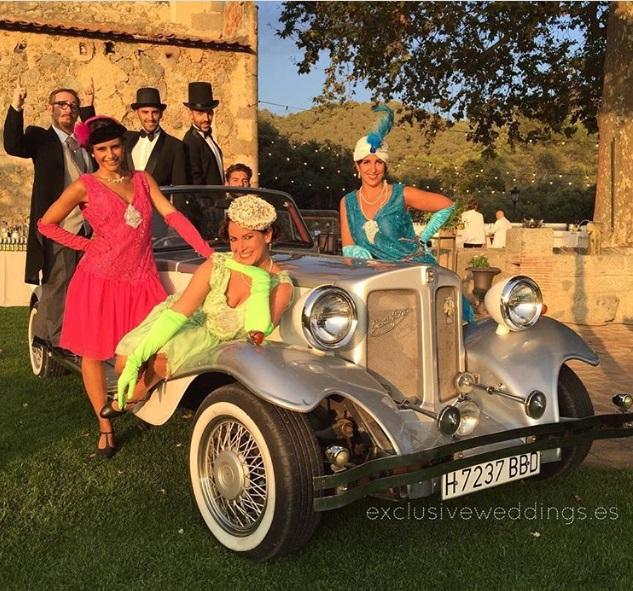 Boda Exclusive Weddings inspirada en los años ´20