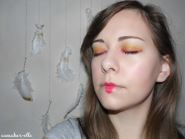on fire makeup