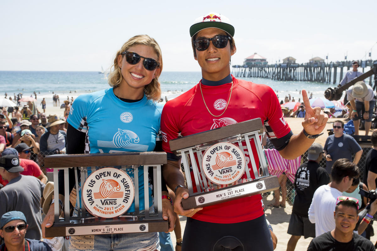 4 Kanoa Igarashi Vans US Open of Surfing foto WSL Kenneth Morris