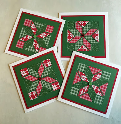 Quilted Christmas Cards
