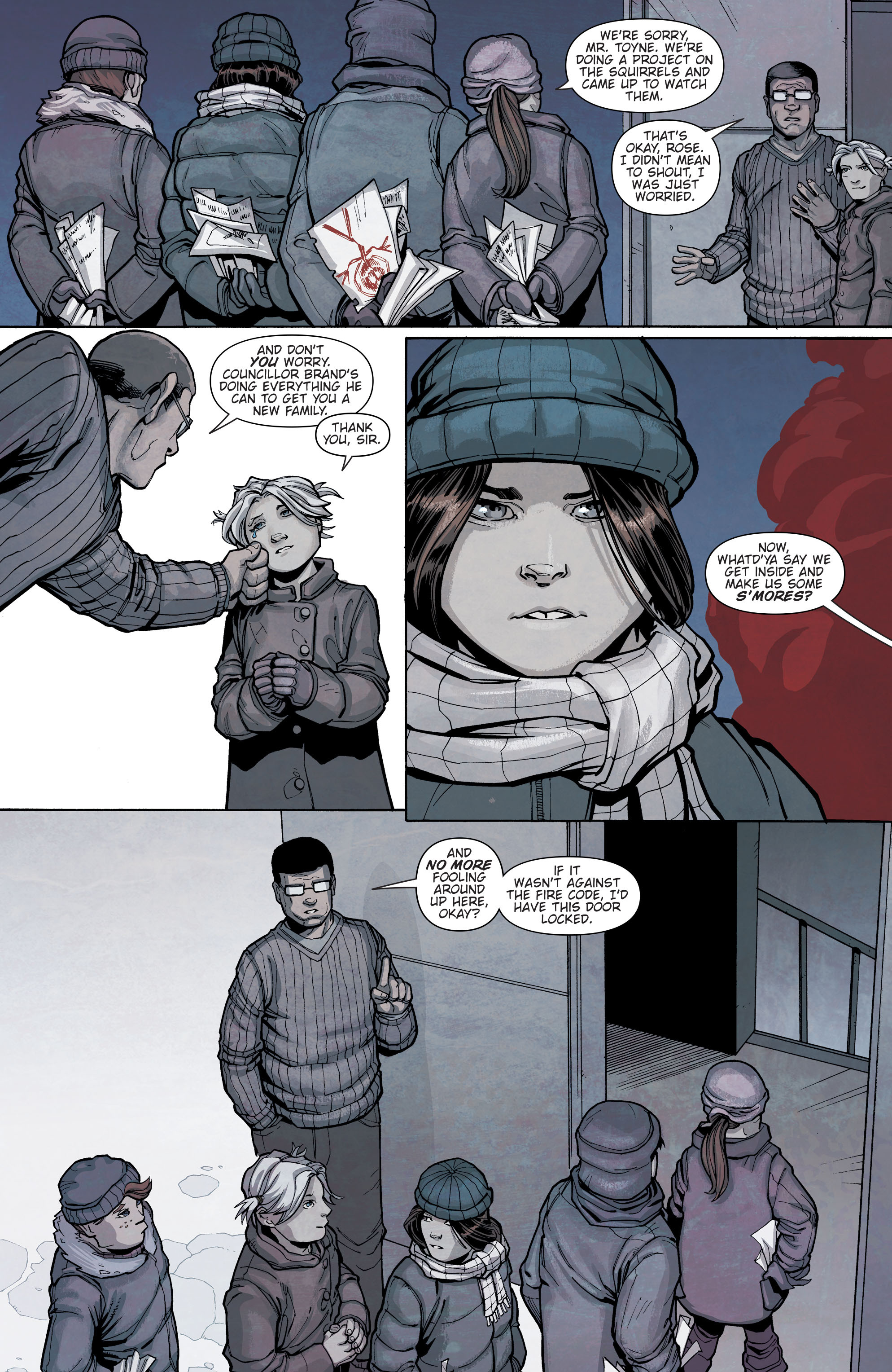 Read online Slash & Burn comic -  Issue #2 - 6
