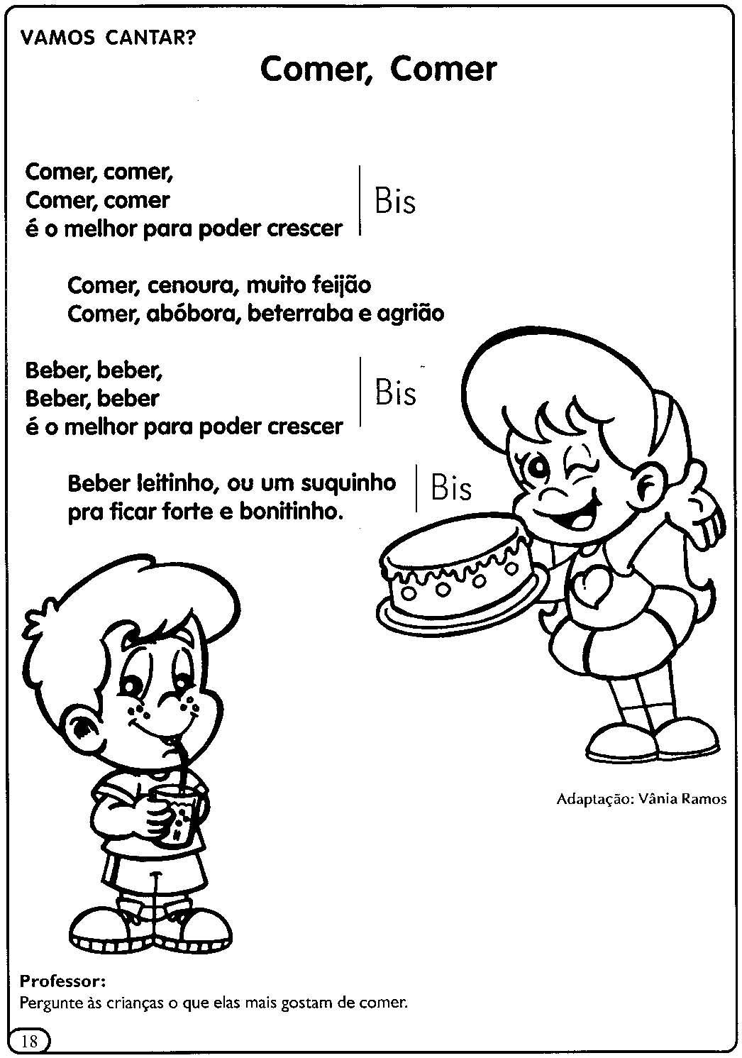 Excepcional A Arte de Educar: Projeto saúde e nutrição - Projeto alimentação  GV85
