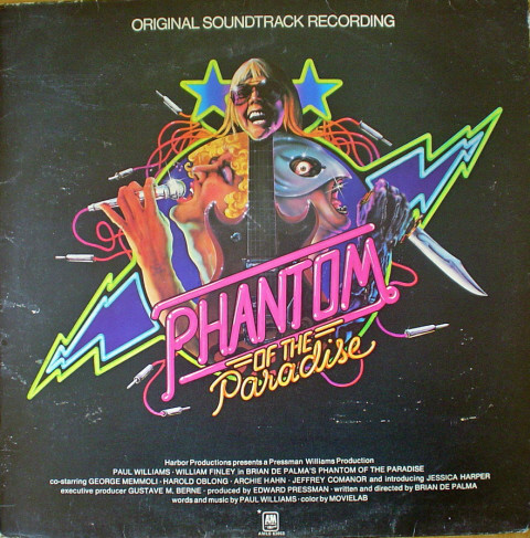 Paul Williams - Phantom Of The Paradise art cover