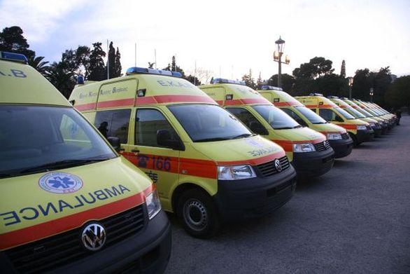 Πάτρα: Σε ετοιμότητα το προσωπικό και τα ασθενοφόρα του ΕΚΑΒ