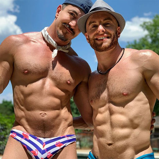 Checking in with our favorite InstaHunks this Sunday.