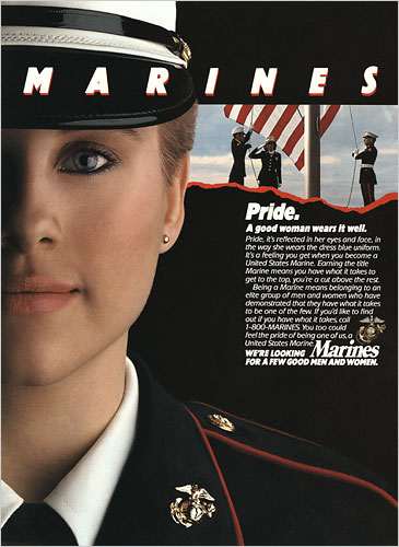 Women have been a part of the USMC since 1918. The secretary of the Navy  allowed women to enroll in 1918. The first woman to become a marine was a  woman by ... 849aaff917