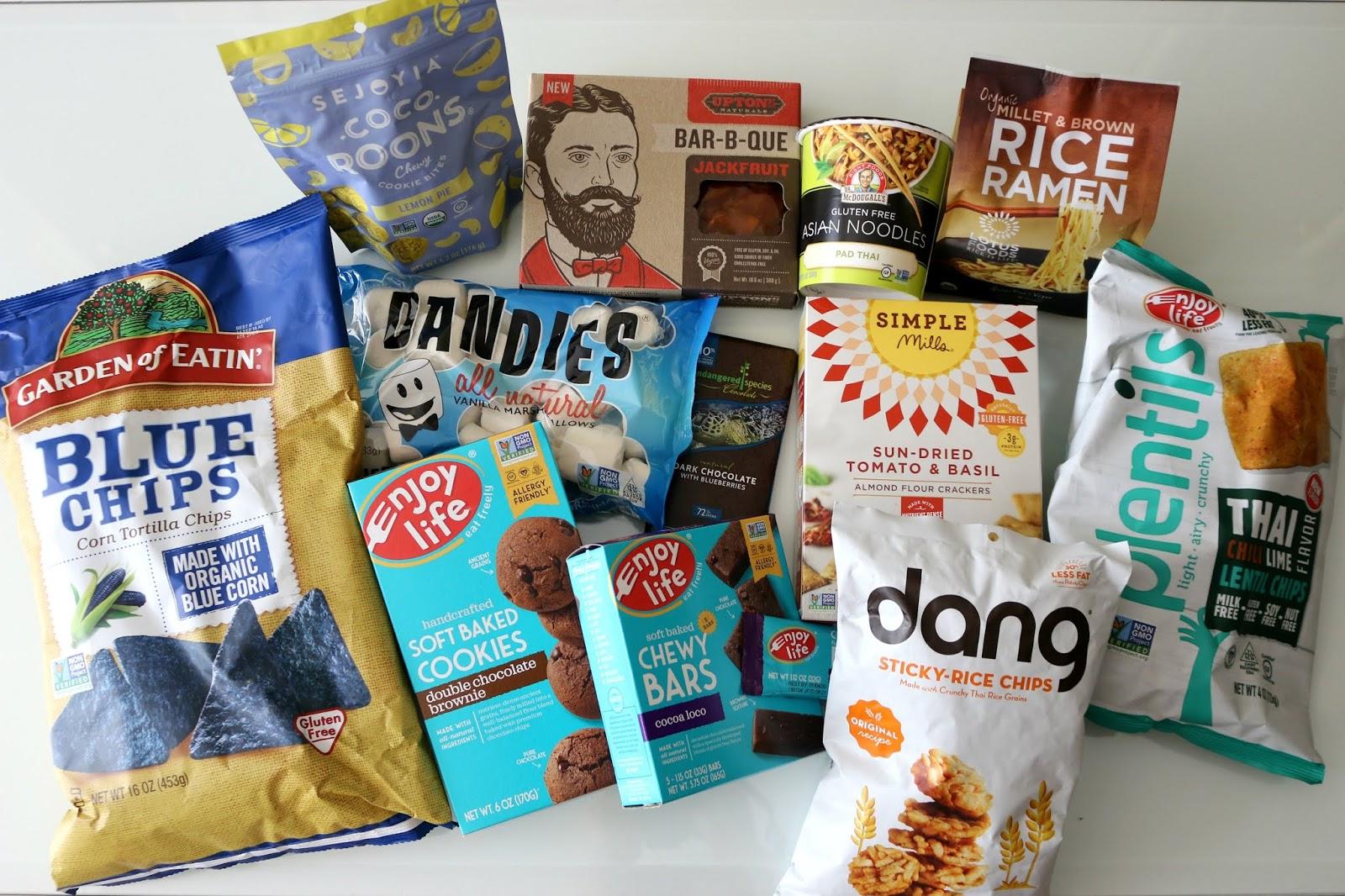 vegan food haul taste test iherb