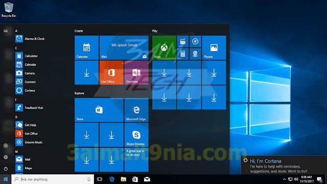 windows 10 Pro Rs2 V.1703.15063.726 En-us X32 - عالم التقنيه