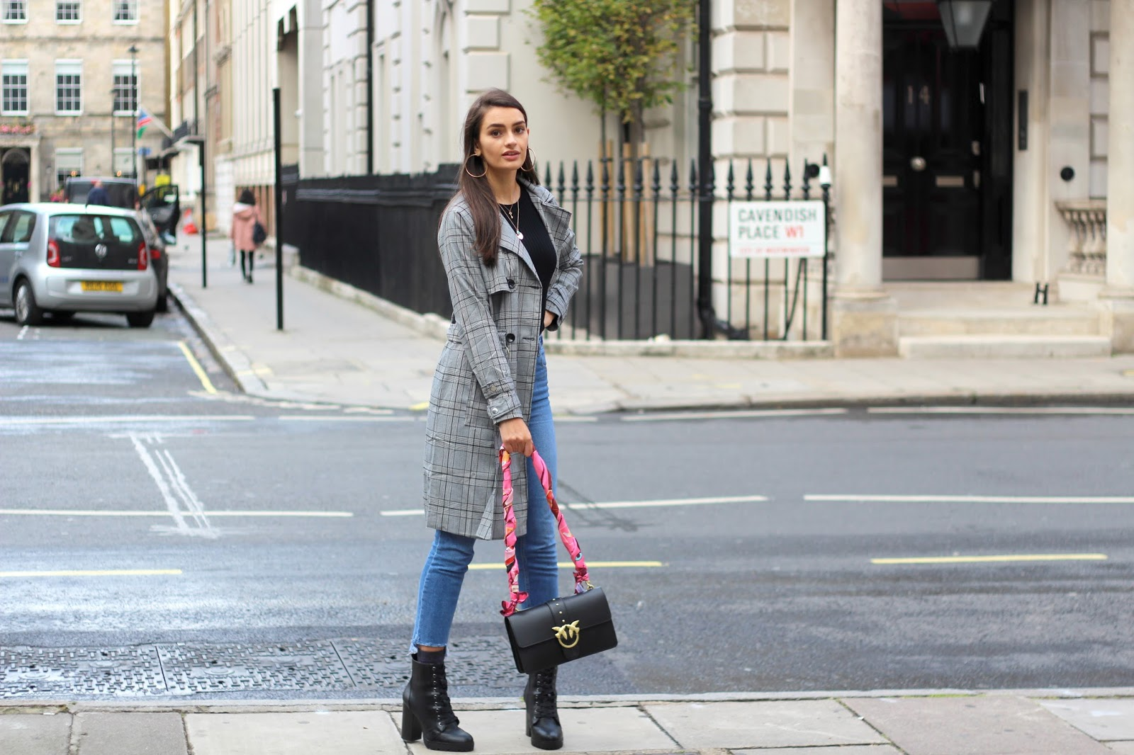 twist on classic trench coat peexo style blogger