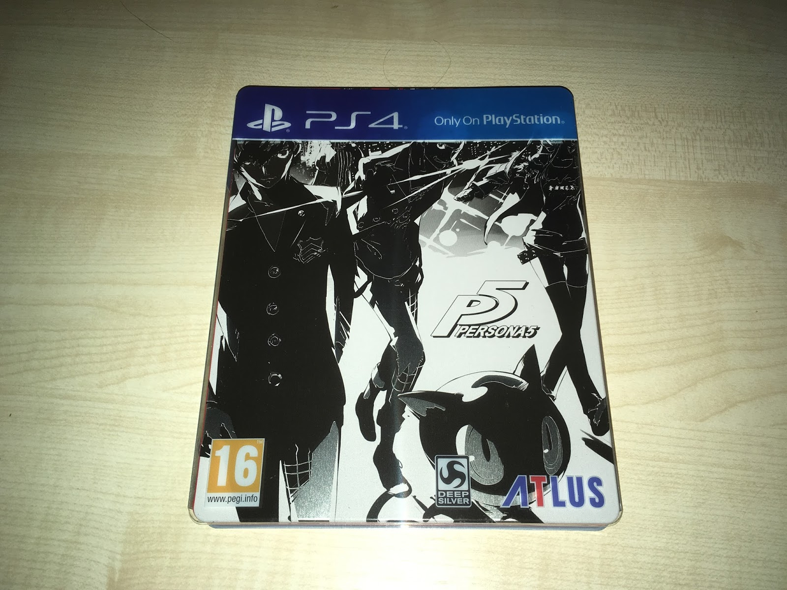 Unboxing Uk Persona 5 Steelbook Launch Edition Ps4 Game Region 3 English
