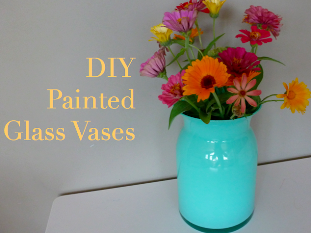 Diy Night Painted Glass Vases Design Improvised
