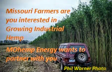 Missouri Farmers and Agribusiness Personnel MOhemp Energy wants to work with you and is actively seeking